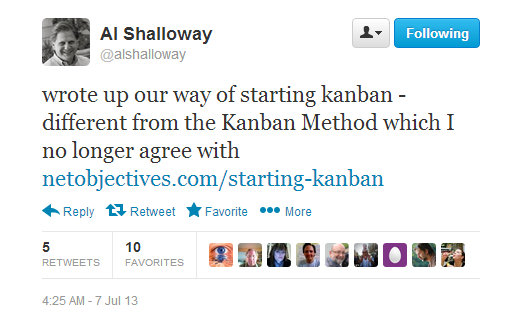 Al Shalloway Kanban
