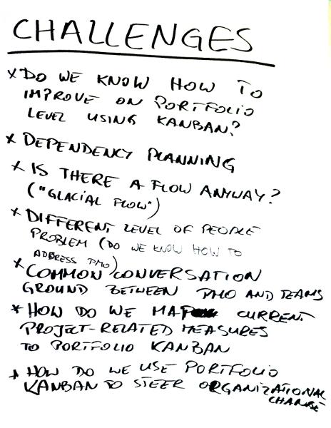 KLRAT Portfolio Kanban Challenges